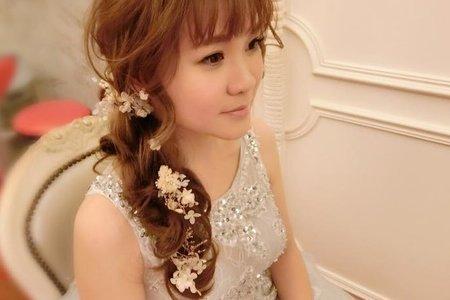 花仙子編髮造型