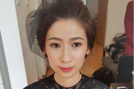 台北新秘/海外婚紗造型妝感/歐美妝感造型