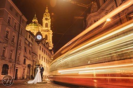 布拉格/海外婚紗妝感造型