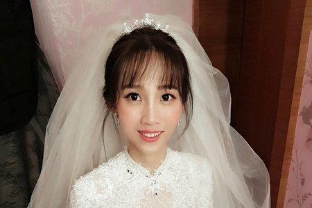 台北新秘/婚宴現場/妝感造型