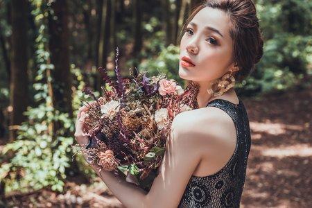 陽明山婚紗造型妝感/台北新秘