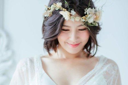 台北新秘/孕婦寫真/妝感造型