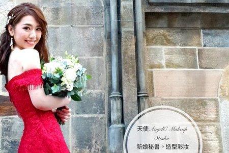 海外婚紗/造型妝感製作/布拉格