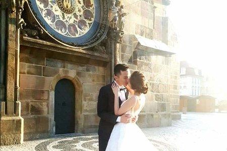 新娘秘書海外婚紗/造型妝感製作/布拉格/希臘/威尼斯