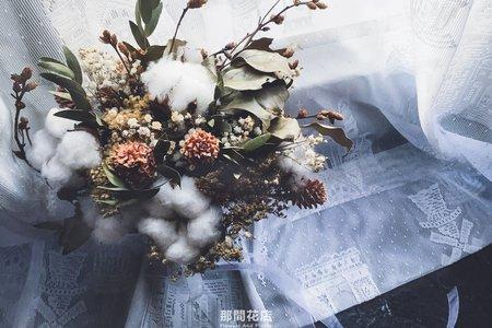 客製新娘捧花/乾燥花捧花/乾燥花束