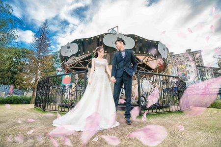 雙人雙機│清新唯美乾淨透亮│茂園和漢美食館類婚紗精選