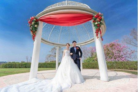 雙人雙機│清新唯美乾淨透亮│心之芳庭證婚儀式+宴客