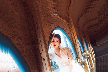 婚紗-美好時代-基隆中山舒淇橋
