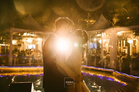 婚攝-美好時代-台北 青青食尚花園會館(星河池畔)