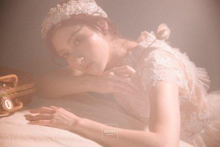 婚紗-室內攝影棚-復古