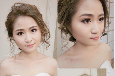 仙仙盤髮造型