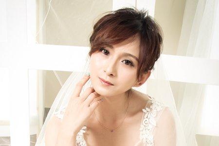 韓式輕透妝裸紗