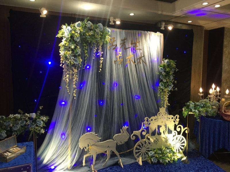 星空馬車+歐式花藝拱門