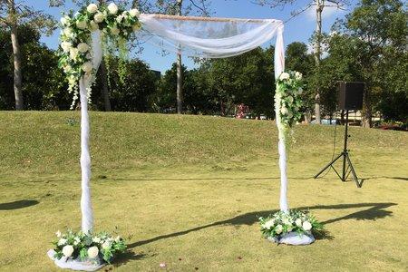 證婚拱門&進場拱門