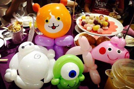 婚宴現場氣球贈送