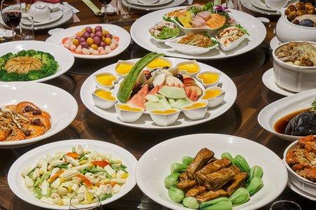 婚宴菜色照片