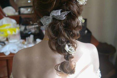 日系女神編髮造型
