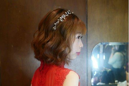 女神捲髮造型