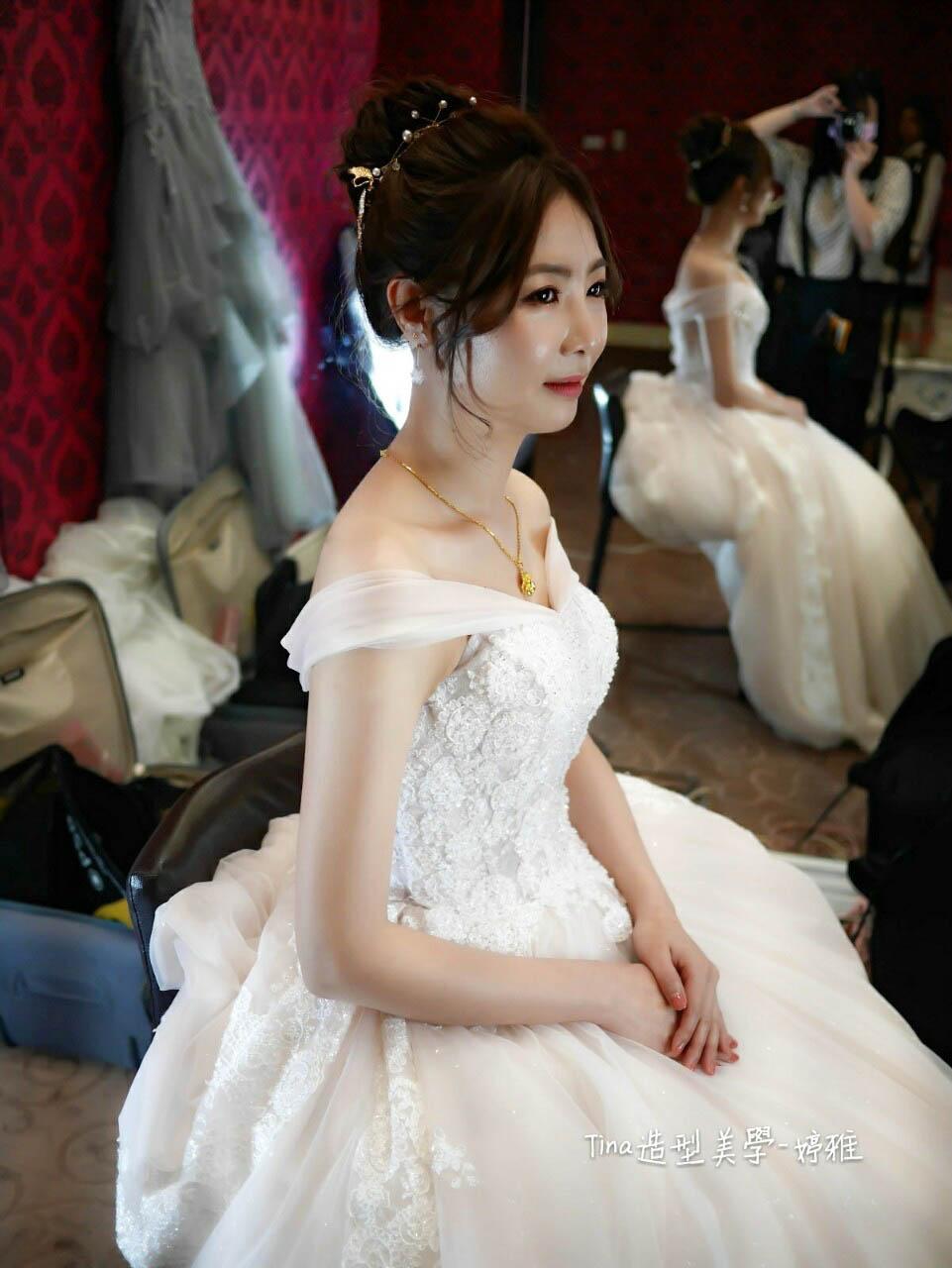 2019 - 雲林新秘/嘉義新娘秘書/Tina造型美學《結婚吧》