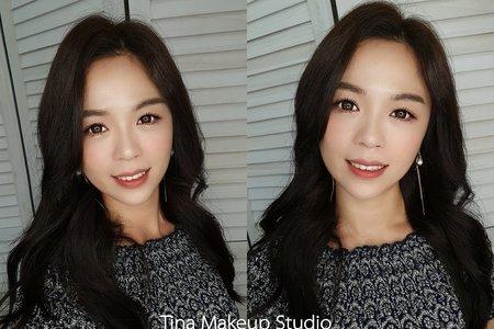 韓系自然清新,無厚重妝感