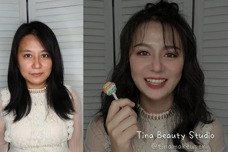 韓系妝髮,韓系真是太美啦