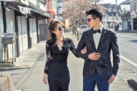 海外婚紗照-新秘造型
