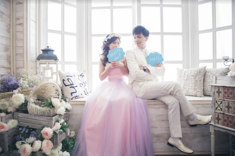 "WH-為您好事韓風婚紗,小資情侶""大推""高CP值-永和WH為您好事"