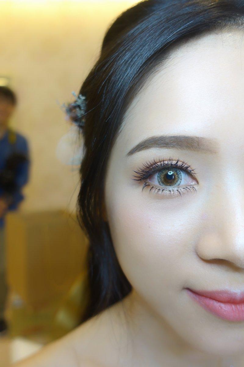 新娘造型,新秘,隱形眼鏡,瞳片