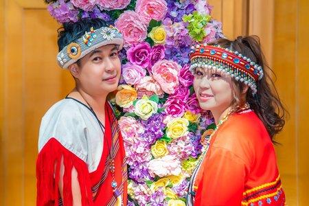 台中僑園飯店 | 婚禮宴客 | 原住民風