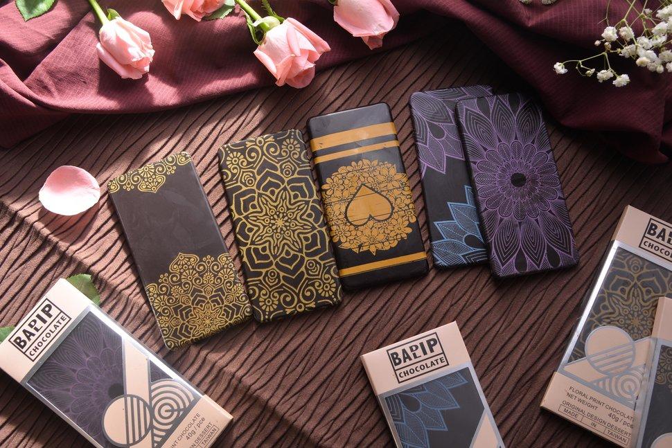 壞唇彩繪圖騰巧克力 - Kreative Chocolate《結婚吧》