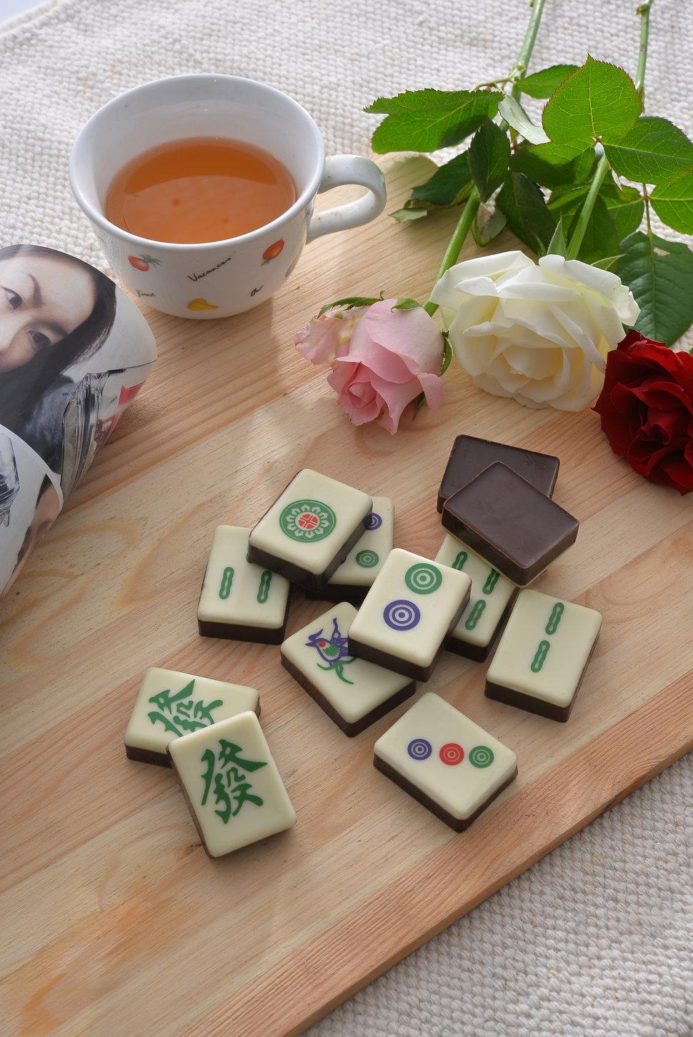 麻將造型巧克力 - Kreative Chocolate《結婚吧》