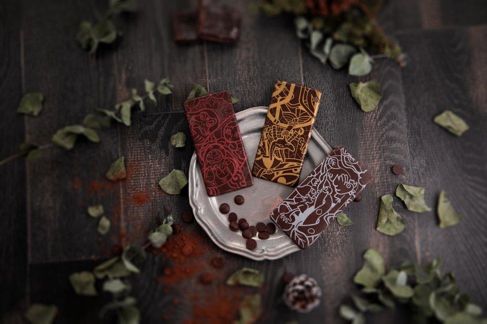 壞唇彩繪圖騰純脂巧克力 - Kreative Chocolate《結婚吧》