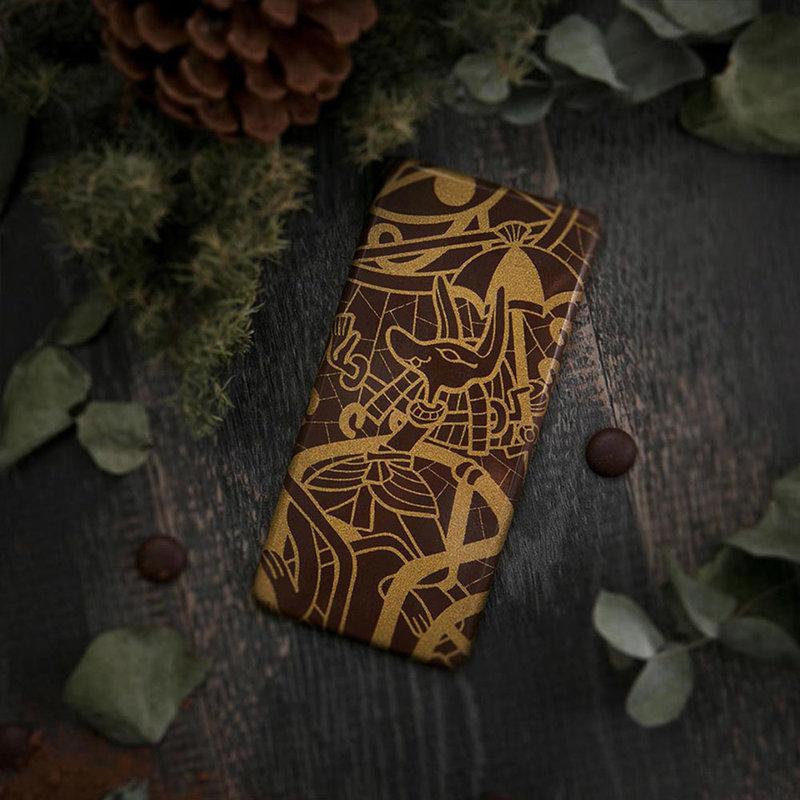 72%埃及風彩繪圖騰純脂巧克力