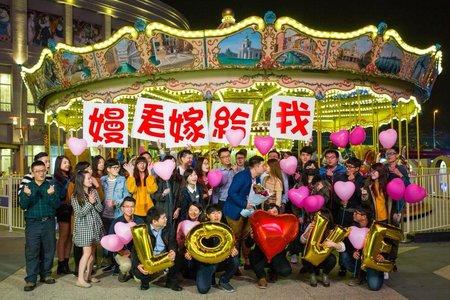 什麼樣的浪漫,吸引全廣場遊客來參與