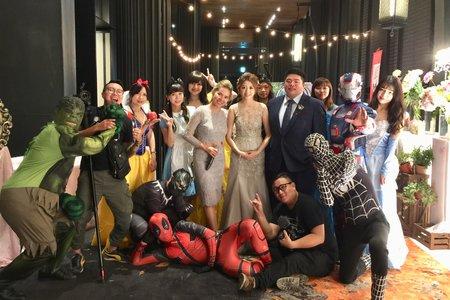 什麼~漫威英雄也來參加婚禮