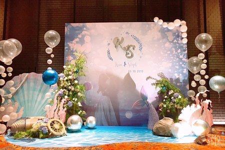 幸福水晶婚禮顧問公司-晶琦盛宴婚禮佈置