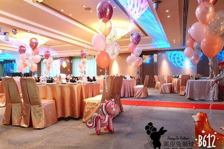 婚禮套組佈置-國賓大飯店