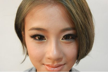 特殊眼妝-時尚煙燻妝