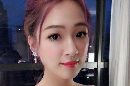 嵐Wing Makeup<噴槍底妝>-盤髮造型