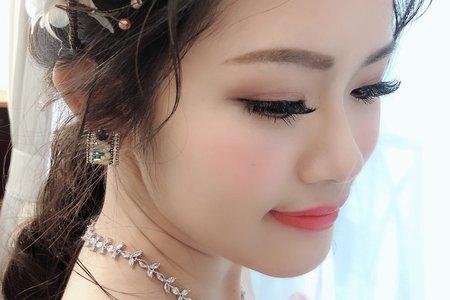 嵐Wing Makeup<噴槍底妝>-婚紗拍樣實作