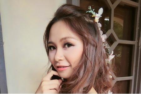 嵐Wing Makeup<噴槍底妝>-甜甜公主風造型