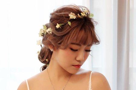 嵐Wing Makeup<噴槍底妝>-仙仙風妝髮造型