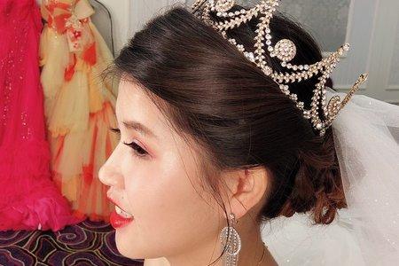 嵐Wing Makeup<噴槍底妝>-0113結婚現場