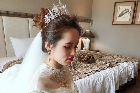 嵐Wing Makeup<噴槍底妝>-0729婚宴現場