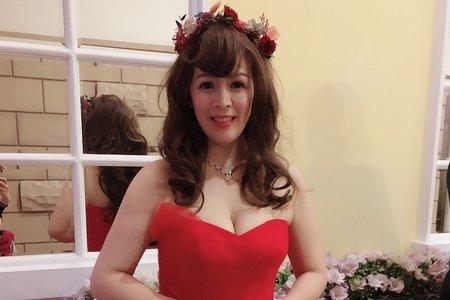 嵐Wing Makeup<噴槍底妝>-0217結婚現場