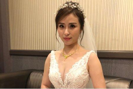 嵐Wing Makeup<噴槍底妝>-婚禮現場
