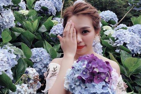 嵐Wing Makeup<噴槍底妝>-繡球花