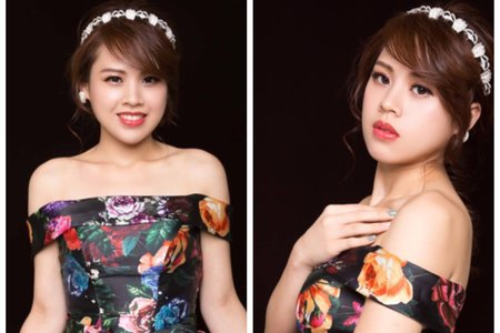 嵐Wing Makeup<噴槍底妝>-時尚感輕婚紗
