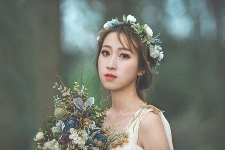嵐Wing Makeup<噴槍底妝>-森林女神風