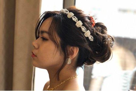 嵐Wing Makeup<噴槍底妝>短髮新娘